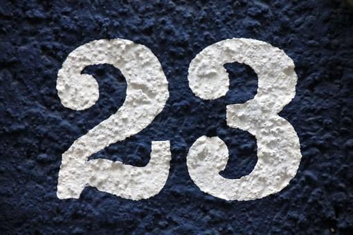 Soñar con el número 23